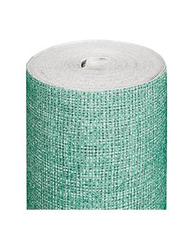 nappe 'like linen - aurora' 70 g/m2 1,20x25 m vert d'eau spunlace (1 unitÉ)