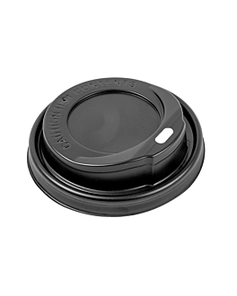 high lids for 240 ml cups  black ps (1000 unit)