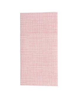 serviettes kangourou 'dry cotton' 55 g/m2 40x40 cm bordeaux airlaid (700 unitÉ)