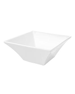 bols carrÉs 500 ml 14,9x5,5 cm blanc porcelaine (6 unitÉ)