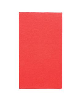 ecolabel napkins f. 1/6 'double point' 18 gsm 33x40 cm red tissue (2000 unit)