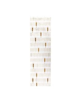 sacchetti panetteria 'ceres' 33 g/m2 14+9x46 cm bianco cellulosa (500 unitÀ)