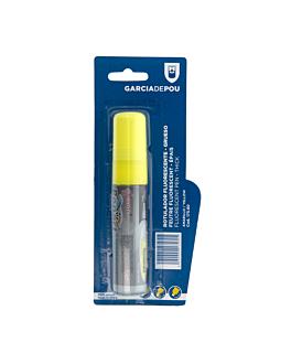 feutre fluorescent Épais Ø 2,8x14,7 cm jaune feutre (1 unitÉ)