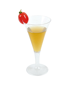 """injected cups """"martini"""" 60 ml 12,7 cm clear ps (180 unit)"""