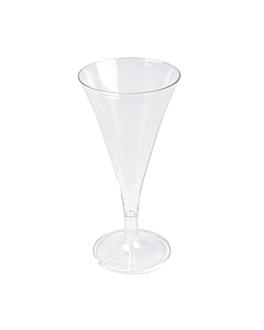 """coupes injectÉes """"martini"""" 60 ml 12,7 cm transparent ps (180 unitÉ)"""