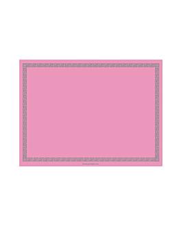 sets de table 60 g/m2 30x40 cm rose dry tissue (800 unitÉ)