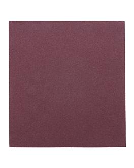 serviettes 55 g/m2 40x40 cm prune dry tissue (700 unitÉ)