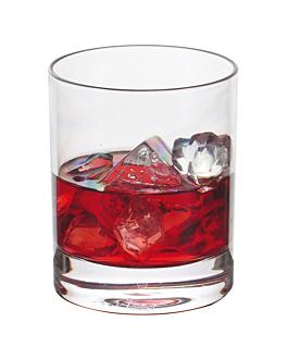 """bicchieri """"whisky"""" 350 ml Ø 8,2x9,5 cm trasparente policarbonato (12 unitÀ)"""