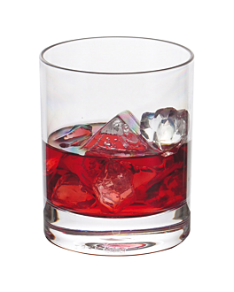 "gots ""whisky"" 350 ml Ø 8,2x9,5 cm transparent policarbonat (12 unitat)"