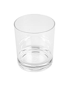 """""""whisky"""" cups 350 ml Ø 8,2x9,5 cm clear polycarbonate (12 unit)"""