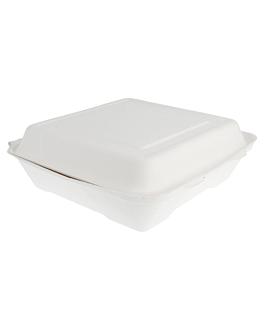"""caixas """"l"""" 'bionic' 22,5x22,5x7,5 cm branco bagaÇo (200 unidade)"""