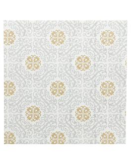 serviettes 'allure' 55 g/m2 40x40 cm blanc dry tissue (700 unitÉ)