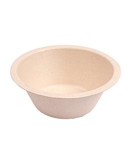 bowls 'bionic' 250 ml Ø11,4x4,4 cm natural bagasse (1500 unit)
