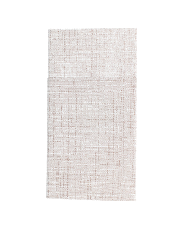 servilletas canguro 'dry cotton' 55 g/m2 40x40 cm chocolate airlaid (700 unid.)