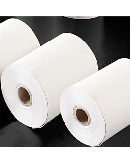 96 u. rouleaux enregistreur thermiques Ø 55x80 mm blanc papier (1 unitÉ)