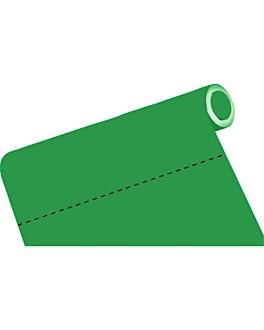 mantel precortado - 60 segmentos 60 g/m2 120x120 cm verde airlaid (4 unid.)