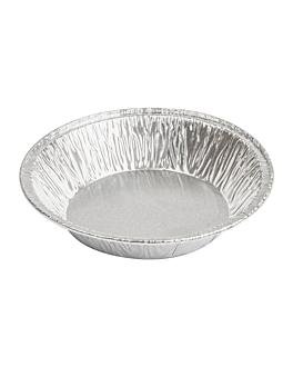 recipientes pastelerÍa 70 ml Ø 9,3/8,4x1,8 cm aluminio (100 unid.)