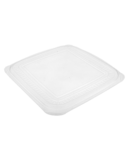 lids for containers 215.30 23,2x23,2 cm clear pp (200 unit)