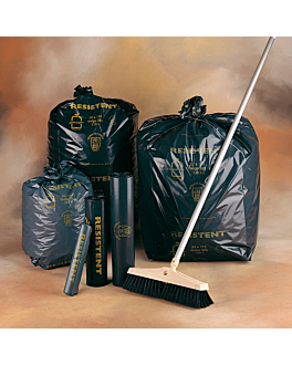20 u. garbage bags 50 l 40µ 68x80 cm black peld (5 unit)