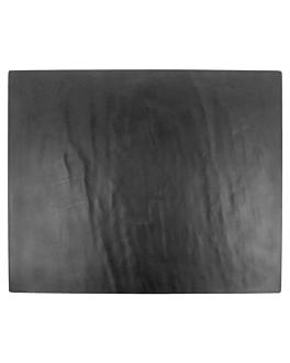 tablas gn 1/4 imitaciÓn pizarra 26,5x16 cm negro melamina (6 unid.)