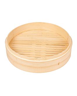 rÉcipients maxi dim-sum Ø 30x6 cm naturel bambou (4 unitÉ)
