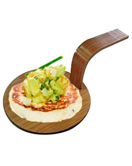 mini pÁs para aperitivos Ø 5 cm natural bambÚ (100 unidade)