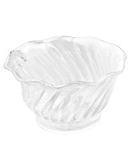 tulip desserts 150 ml Ø 9,5x6 cm clear san (24 unit)