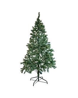 albero 275 cm. h. verde fibra ottica (1 unitÀ)