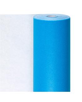 papier cadeaux couleur unie 60 g/m2 0,7x100 m bleu turquoise cellulose (1 unitÉ)