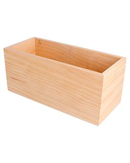 scatola presentazione condimenti 23x10x10 cm naturale legno (1 unitÀ)