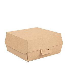 scatole hamburger 'thepack' 220 g/m2 17,6x16,8x7,8 cm naturale cartone ondulato a nano-micro (300 unitÀ)