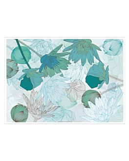 sets de table offset 'lotus' 70 g/m2 31x43 cm quadrichromie papier (2000 unitÉ)