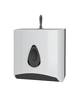 dispenser for toilet paper in sheets 17x12,5x15 cm white peld (1 unit)