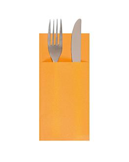 servilletas cangurito 55 g/m2 33x40 cm mandarina airlaid (700 unid.)