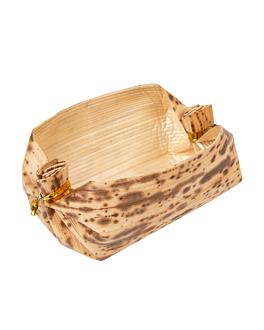 containers 3,8x5,8x3,8 cm natural bamboo (500 unit)