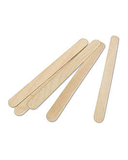 ice cream sticks 11,4x1x0,2 cm natural wood (10000 unit)