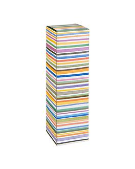 50 u. cajas 1 botella 'bayadÈres' 9x9x34 cm cartÓn (50 unid.)