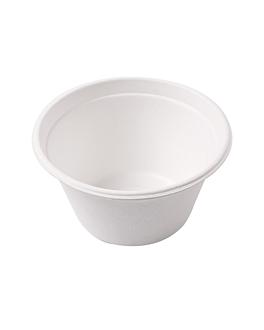 terrine 'bionic' 360 ml Ø 11,6x6,3 cm bianco bagassa (500 unitÀ)