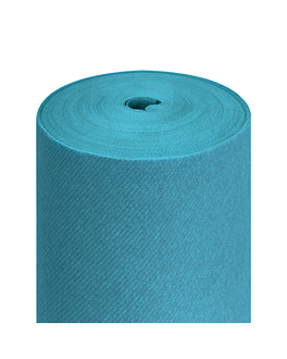 """tÊte À tÊte"" pre. 120cm (20 ser.) 55 gsm 0,40x24 m turquoise airlaid (6 unit)"