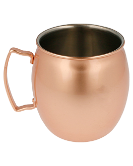 mug 'moscow' 540 ml Ø 8,6x10 cm copper stainless steel (1 unit)