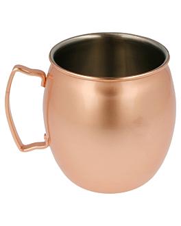 chope 'moscow' 540 ml Ø 8,6x10 cm cuivre inox (1 unitÉ)