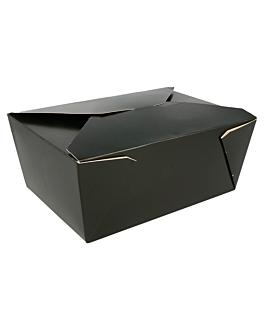 scatole americane per micro. 2880 ml 350 g/m2+pp 19,8x14x9 cm nero cartone (40 unitÀ)