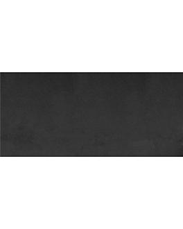"""tÊte À tÊte"" folded 1/2 'spunbond' 60 gsm 40x100 cm black pp (400 unit)"