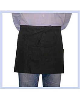 schÜrze geldbeutel mit 3 taschen 61x30 cm schwarz polyester (1 einheit)