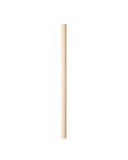 gerade cocktail-trinkhalme Ø0,60x14 cm natur kraft (6000 einheit)
