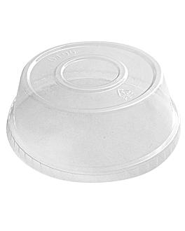 kuppeldeckel fÜr behalter 226.20/21, 195.52/53 Ø 9,5 cm transparent pet (1000 einheit)
