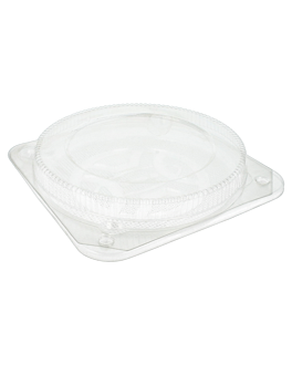 containers for cakes & quiche Ø 20x4cm clear ops (250 unit)