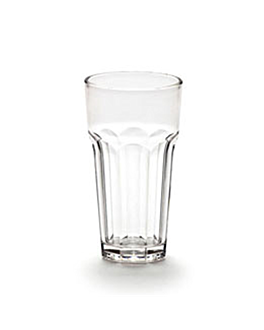 vasos apilables 414 ml Ø 7,9x12,7 cm transparente policarbonato (72 unid.)