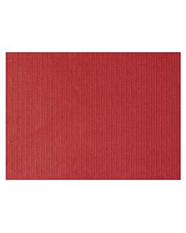 mantelines 48 g/m2 31x43 cm burdeos celulosa (2000 unid.)