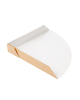 server crepes 'thepack' 220 gsm 17x17x2 cm natural nano-micro corrugated cardboard (800 unit)